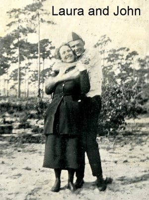 Laura Upthegrove and John Ashley were known as 'king and queen of the Everglades.'