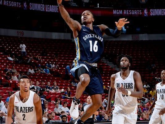 2018 NBA Summer League - Las Vegas - Memphis Grizzlies v Portland Trail Blazers