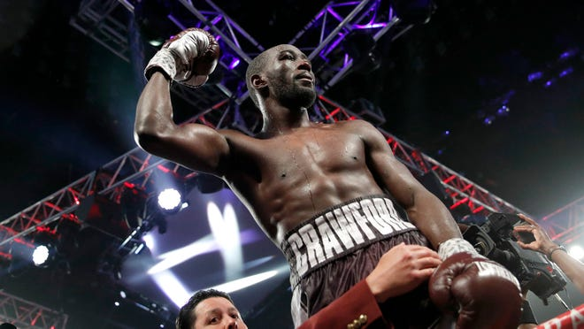 Terence Crawford will take on Amir Khan at Madison Square Garden on Saturday night.