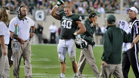 MSU linebacker Max Bullough captained the greatest