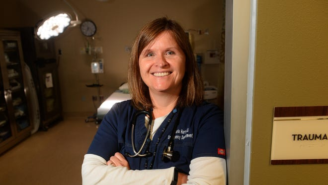 Dr. Sharla Hart, an ER physician at the Great Falls Clinic Hospital, talks about her experiences dealing with opioid-dependent patients visiting the ER trying to get pain pills.