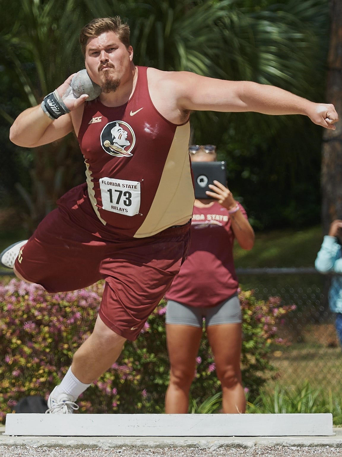Florida State redshirt junior Austin Droogsma carries a commanding confidence that is made apparent to those around him.