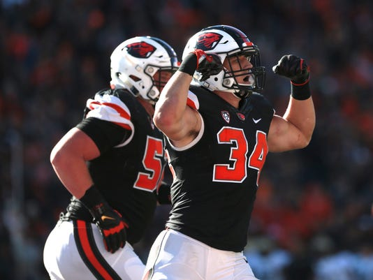 NCAA Football: Colorado at Oregon State