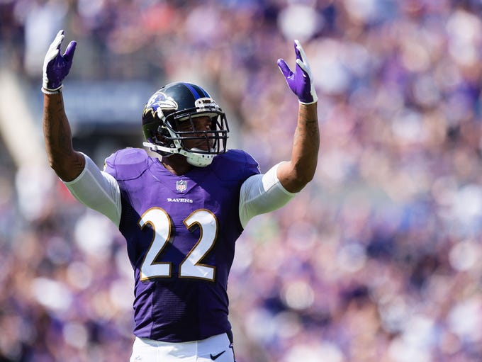 Ravens CB Jimmy Smith: Suspended four games for violating