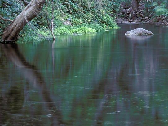 Imágenes de Fossil Creek, localizado en el Parque Nacional