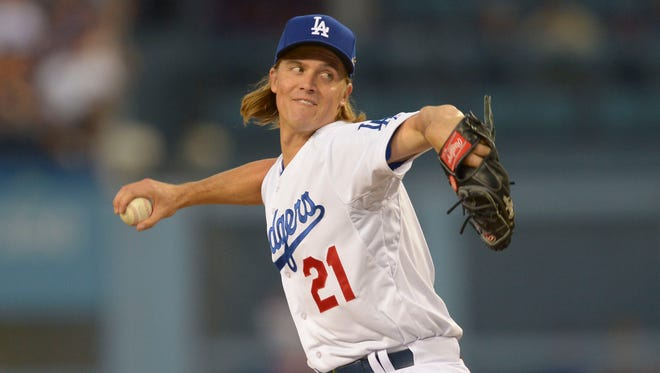 A win by Zack Grienke will send the Dodgers to the NLCS.