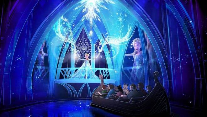 Frozen Ever After comes to Disney World's Epcot in 2016.