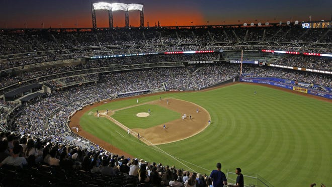 The New York Mets and the Chicago Cubs square off in a game in 2019 at Citi Field in New York. Major League Baseball players ignored claims by clubs that they need to take additional pay cuts, instead proposing they receive a far higher percentage of salaries and a commit to a longer schedule as part of a counteroffer to start the coronavirus-delayed season.