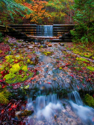 Iargo Springs in Oscoda Township, Michigan. one of the shots Izzy Cagalawan submitted for the #Nikon100.