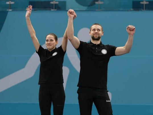 USP OLYMPICS: CURLING-MIXED TEAM GOLD MEDAL MATCH S OLY KOR