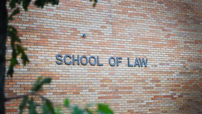 University of South Dakota Law School, Monday, Oct. 2, in Vermillion.