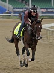 Omaha Beach is the 4-1 early favorite for the Kentucky