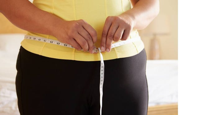 The average weight gain for women in their 50s and 60s is 1.5 pounds per year.