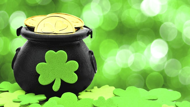 No need to look for a pot of gold at the end of the rainbow this St. Paddy's Day; it could be in your house!