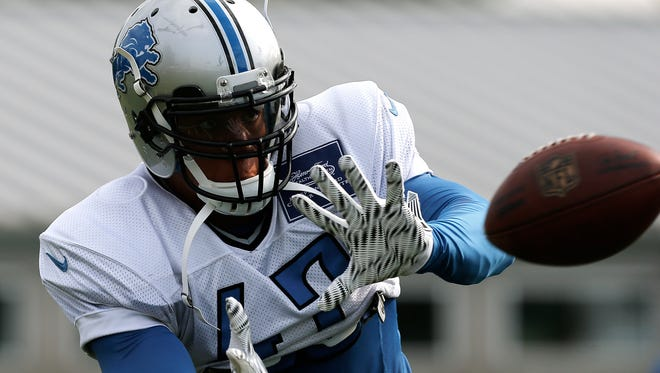 Detroit Lions safety Taylor Mays.