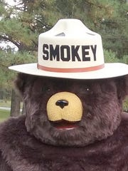 Smokey Bear is the centerpiece of the celebration.