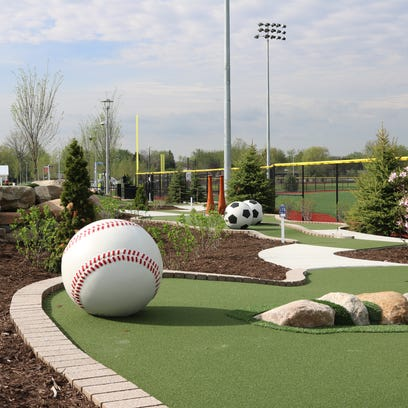 In addition to numerous baseball and soccer fields,