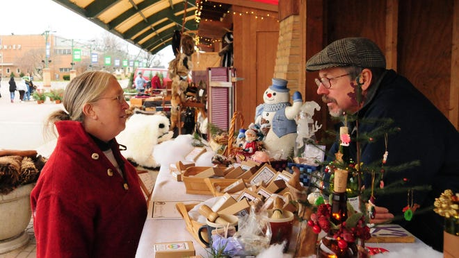 Kerstmarkt, Holland's European-style Christmas market, opens for the holiday season Saturday, Nov. 21 and will be open Fridays and Saturdays through Dec. 12.