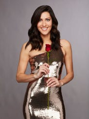 "Becca Kufrin, the ""Bachelorette"" for Season 14 of ABC's"