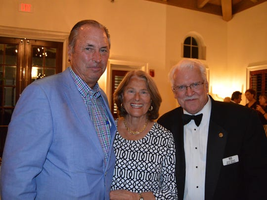 Dr. William and Mickey Cooney and VBO Board Member Karl Steene.