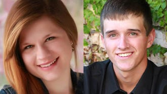 Mikayla Schmidt and Mitchell Wittmann of Kaukauna are this week's top scholars.