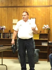 Campbellsport Fire Chief Craig Olson told the Campbellsport Village Board during a meeting Monday that an anonymous letter, and the board's decision to remove alcohol from the firehouse showed little confidence in his leadership.