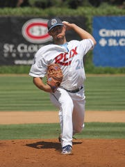 Former St. Cloud pitcher Logan Salow was picked in
