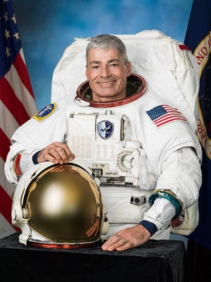 Mark Vande Hei's official NASA portrait. Vande Hei is a member of the 2009 class of astronauts. He graduated from St. John's University in 1989.