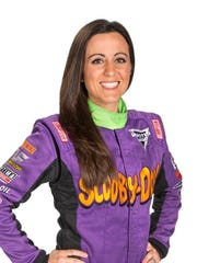 Linsey Read is the driver of the Scooby Doo truck in