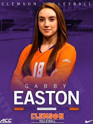 Gabby Easton commits to Clemson.