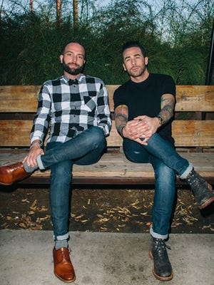 Clever Koi owners Joshua James (left) and Nick Campisano are opening cocktail bar Across the Pond in late summer.