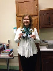 Dawn Bohm won two tickets to the Packers vs. Falcons game Dec. 8.