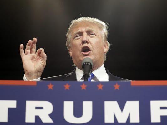 Trump fall