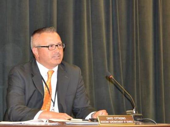 Old Bridge Schools Superintendent Dave Cittadino
