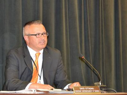 Old Bridge Schools Superintendent Dave Cittadino