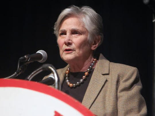 Diane Ravitch speaking in Bedford in January
