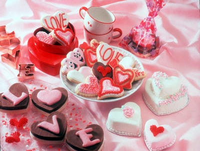Bake a treat – be it cookies or cake – for your valentine this Friday.