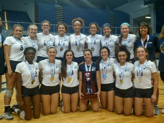 The Sneads volleyball team captured a fifth consecutive