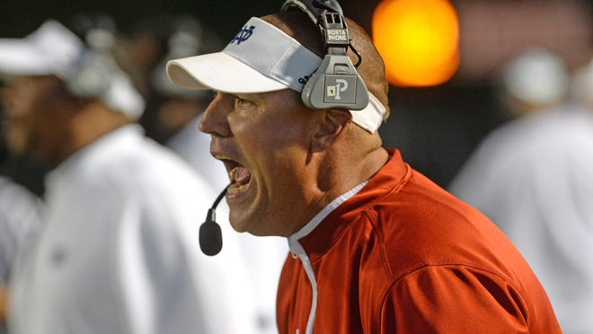 Former North DeSoto coach and athletic director Scott Abernathy has a new job.