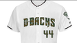 Diamondbacks' Memorial Day uniform.
