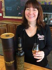 Carrie Adamson Morabito,  co-owner of 2Foodies Wine
