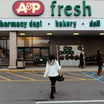 The A&P supermarket on Shrewsbury Avenue in Tinton Falls will be acquired by Acme.