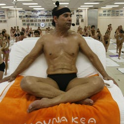 Calif. judge issues arrest warrant for hot yoga founder Bikram Choudhury