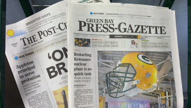 Scarborough Research, a national media and consumer research firm, reported that Gannett Wisconsin print and digital products in the Green Bay market area ranked No. 1 for Integrated Newspaper Audience with a 62 percent reach.