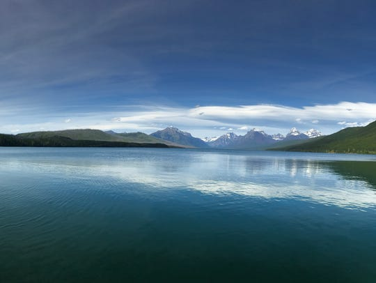 Lake McDonald in Glacier National Park, Montana.