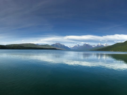 Lake McDonald in Glacier National Park, Montana.
