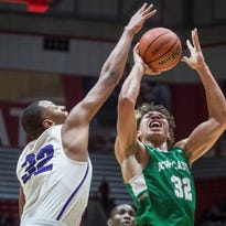 Top Purdue, Butler 2019 target Mason Gillis of New Castle out with knee injury