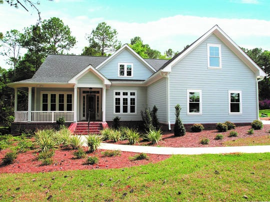 House located in Southern Oaks — dubbed Leon County's first all green community.