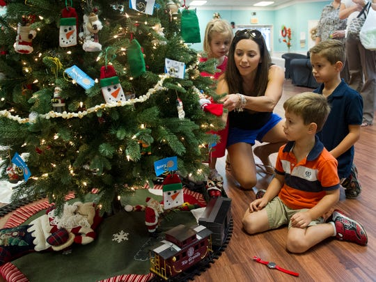 Tykes & Teens' annual Festival of Trees & Lights at