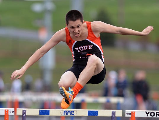 West York vs York Suburban track and field
